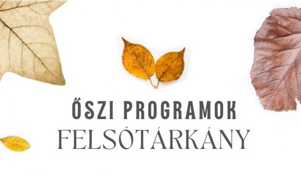 Őszi programok